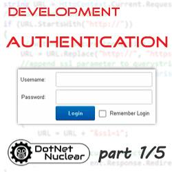 DNN authentication overview and basic customizations - Part 1/5