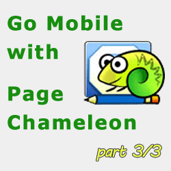 Go Mobile with Page Chameleon for DotNetNuke - Part 3/3