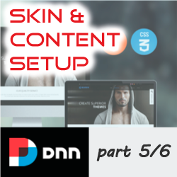 How to setup, apply and configure a DNNGo.net Skin - Part 5/6