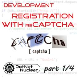 Custom Registration with reCAPTCHA - Overview and Demonstration - part 1/4