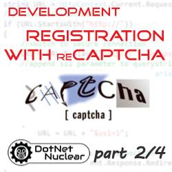 Custom Registration with reCAPTCHA - Code: Settings, Form Construction, jQuery Validation - part 2/4