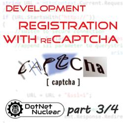 Custom Registration with reCAPTCHA - Code: Password Strength input, implement reCAPTCHA, Packaging - part 3/4