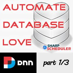How to automate the DNN database clean up with Sharp Scheduler - Part 1/3