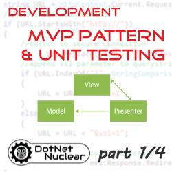 MVP Pattern Overview and the Enterprise MVP template - part 1/4