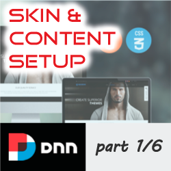 How to setup, apply and configure a DNNGo.net Skin - Part 1/6