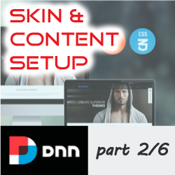 How to setup, apply and configure a DNNGo.net Skin - Part 2/6