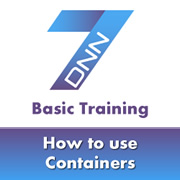 Setting Default and Individual Module Containers in DNN