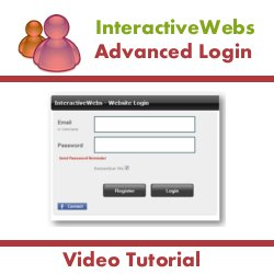 Configuring the Advanced Login Module