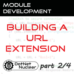 Parts of the ExtensionUrlProvider; Installing and setting up the Sample code