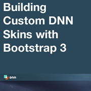 How to Create a Custom DNN Skin with Bootstrap 3 - Customising the Navbar and Adding Panes