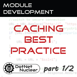 Caching Best Practice: Introduction, Demonstration, and Caching