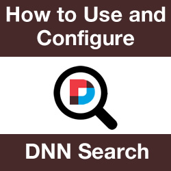 DNN Search: Remove Pages or Modules and Synonyms