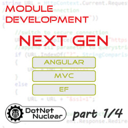 Next Generation DNN Module Development Stack: MVC, Angular, EF - Introduction and Demonstration