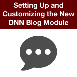 How to Create a New Blog Module Display Template