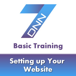 DotNetNuke 7 Basic Training - Page Management