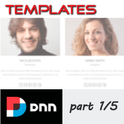 Working with Templates in DNN 7 - Module Level - Part 1/5