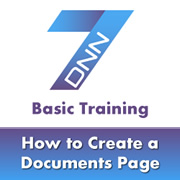 How to Use the Documents Module