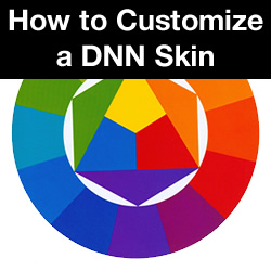 How to Customize a DNN Skin - Change a Background Image