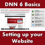 DotNetNuke 6.x Basics - Setting up your Website