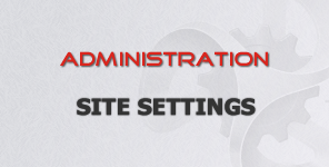 DotNetNuke Site Settings